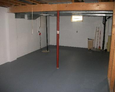 Basement Painting Canton