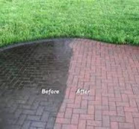 Patio paver cleaning and sealing