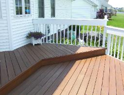 Exterior Deck Staining in Medina Ohio Painter Akron Ohio