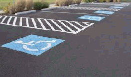Parking Lot Line Striping Akron Canton  Medina Ohio