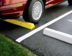 Parking Bumper Painting Akron Ohio